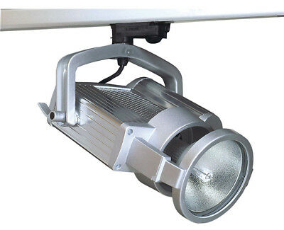 NEW One Light Track Mounted Floodlight in Silver