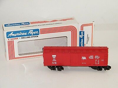 New In Box ~ American Flyer S Gauge Wabash Reefer 6-48800 Lionel Red ~ Nib