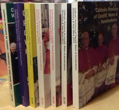 Directory for Catholic Province of Cardiff, Wales & Herefordshire 2004,09-13, 15