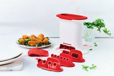 Tupperware. Set m-press. Croquetera + Recetario