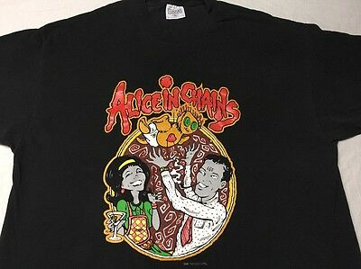 Vtg 1996 Alice In Chains Concert Promo Shirt Xl