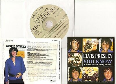 "Elvis Presley Cd ""You Know, It Don't Have To Be Strictly Country Vol. 2"" Gravel"