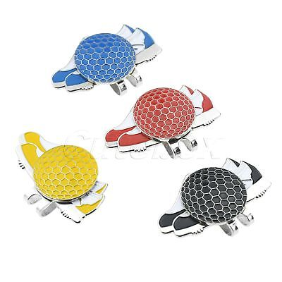 Pack Of 1 Shoes Design Magnetic Hat Clip With Golf Ball Marker Gift Golfers
