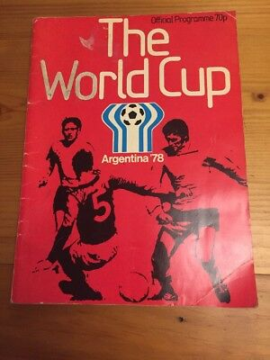 World Cup 1978 Official Programme