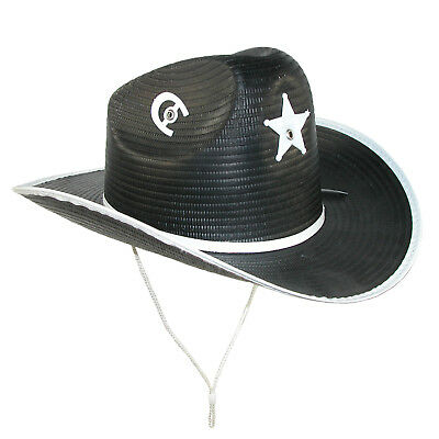 New CTM Kids' Western Texas Star and Horseshoe Cowboy Hat