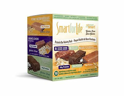 Smart for life Protein Bars-(18X50g) 275 Count New