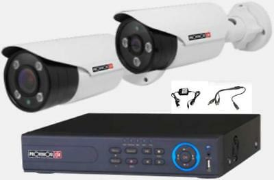 6Tb Hdd 4 Channel 1080P Provision Isr Dvr - 2 Camera Surveillance System