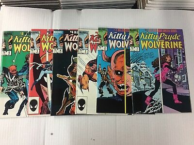 KITTY PRYDE AND WOLVERINE  (X-Men) #1-6, MARVEL Comics, FREE SHIPPING