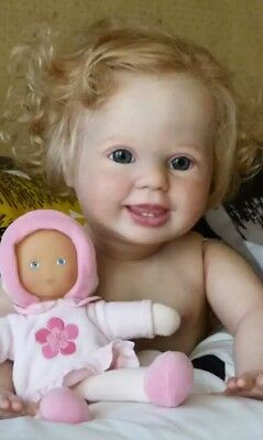 AMELIA Reborn Toddler Doll KIT with cloth body