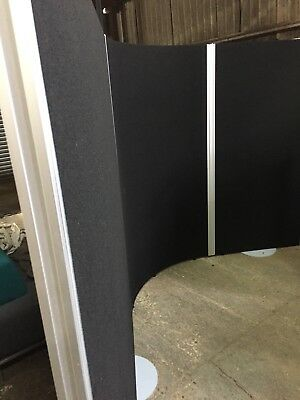 Office Partitions Floor Standing Screens X 3 Furniture