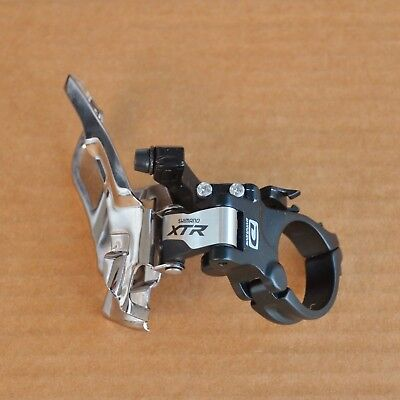 NEW Shimano XTR FD-M981 Front Derailleur Dual-Pull Triple 10S 34.9mm Clamp-On