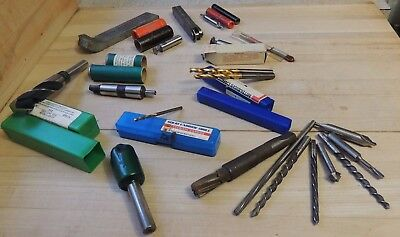 Assorted lot of machinist tools