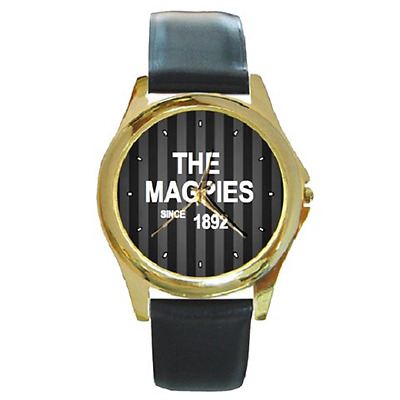 **new** Magpies Since 1892 Newcastle Round Wristwatch **fantastic Item**