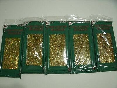 """18"""" Icicles 1000 Strands Lot Of 5"""