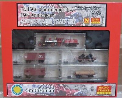 Micro Trains 993 01 210 Civil War 150th Anniversary Confederate Set N Scale NOS