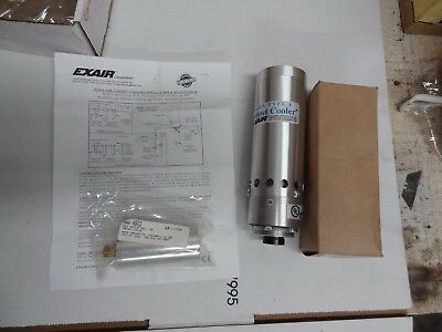 EXAIR COOLING SYSTEM FOR STAINLESS STEEL CABINET NEMA 4X mod 4630 New Surp...