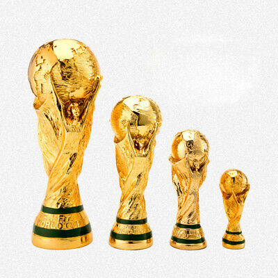 2018 Football World Cup Trophy Model Golden Champions Resin Craft Gift 5 Sizes
