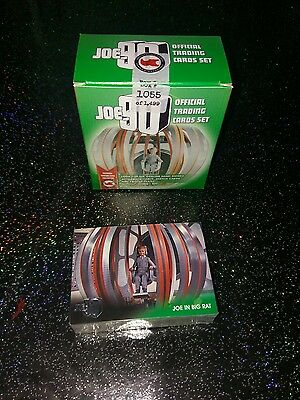 Joe 90 Base Set Of 54 & 6 Foil Set Trading Cards Gerry Anderson + Empty Box