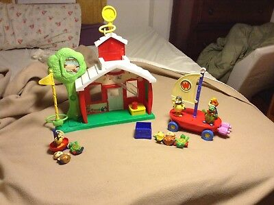 Wonder Pets Sounds School House Plus Fly Boat Figurines Great Lot VGC