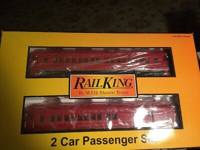 MTH Rail King New York Central Madison 60' -2 Car Set