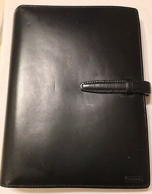 100% Authentic Black Coach Leather Agenda/organizer-Very High Quality