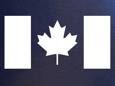 Canada Canadian Flag Drapeau Bumper Sticker Decal Perfect for any smooth surface