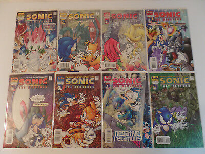 SONIC THE HEDGEHOG Archie Comic Book Lot of 8 - #79 #83 #84 #85 #86 #87 #88 #90