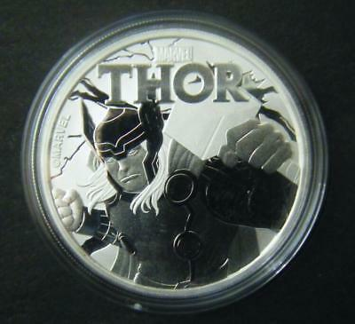 2018 Tuvalu $1 Marvel Series Thor Silver Bullion Coin Dollar