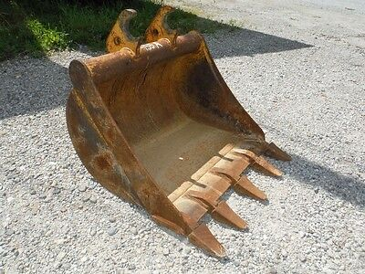 "John Deere 30"" Ditching / Trenching Tooth Bucket! Fits Jd 50/60 Mini Excavator!"