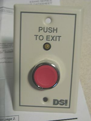 Dsi Es440-B1-C6 Access Control Push Button Door Release  New