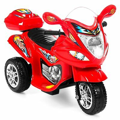 Best Choice Products Kids Ride On Motorcycle 6V Toy Battery Powered Electric 3 W