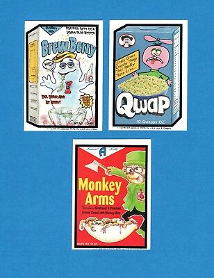 1997 Duane Dimock THE FREAKIE MAGNET Magazine WACKY PACKAGES Insert Stickers Set