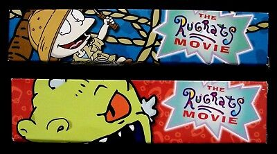 Set of 2 The Rugrats Movie Wristwatches NEW - MIB 1998