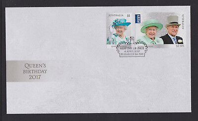 Australia 2017 : Queens Birthday 2017 First Day Cover. Mint Condition