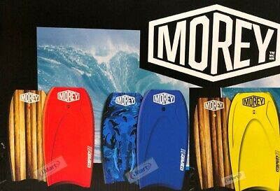 "Morey Boogie Board Mach 9TR 108cm (42.5"") Tube Rail System Bodyboards (2017 New)"