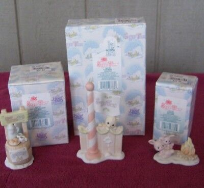 Precious Moments - E2 - ENHANCEMENT SET - 3 PC - For Sugar Town Collection