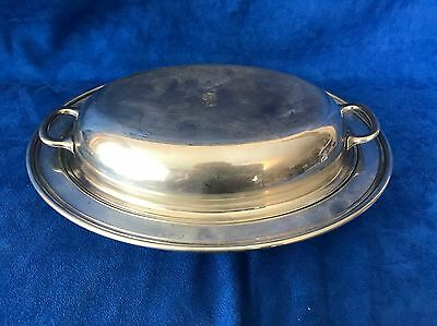 Manchester Silver Co. Sterling Silver Covered Vegetable Dish