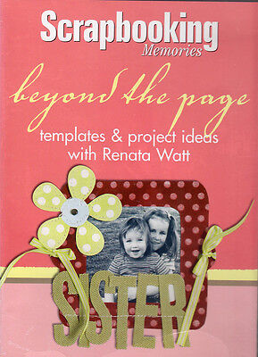Beyond the Page Scrapbooking Memories Templates & Projects by Renata Watt NEW