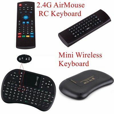 Mini Wireless USB Keyboard Keypad Mouse For Samsung Smart TV Box PC Raspberry PI