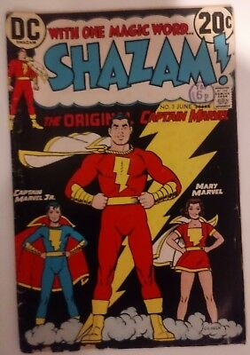 Shazam #3 1973: Captain Marvel, The Marvel Family : C.c.beck Art: American Comic