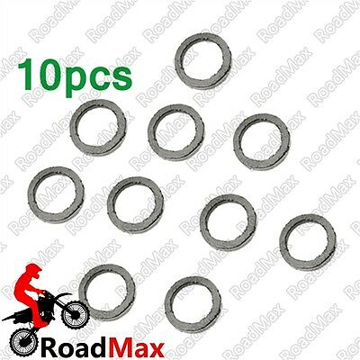 Chinese Moped Exhaust Muffler Gasket Kit GY6 49cc 50cc 125cc 150cc Scooter