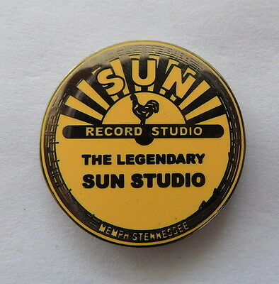 Elvis Presley studio enamel pin badge. TCB Taking Care of Business