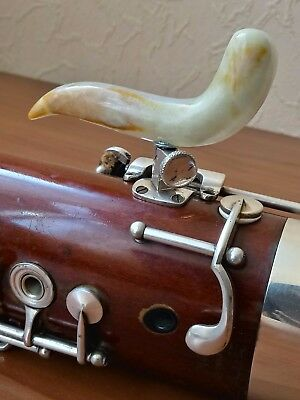 Completely handmade - stone -  ONYX  Exclusive PRO hand holder for bassoon !
