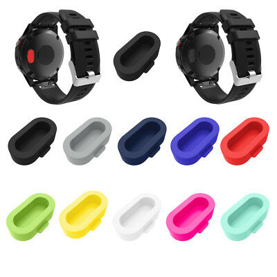 10PCS Wristband Port Protector Resistant And Anti-dust Plugs For Garmin Fenix 5S