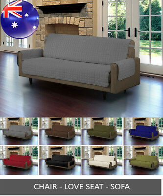 Custom Fit Sofa Cover Protector/ Antimacassar 1 2 3 Seater Pet Couch Mat Dog Cat