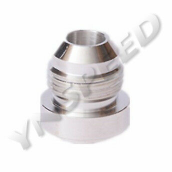 AN-20 AN20 20AN Male Aluminum Weld On Fitting Round Base Silver