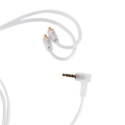 2.5mm Balanced MMCX Silver-Plated IEMS Earphone Replacement Cable