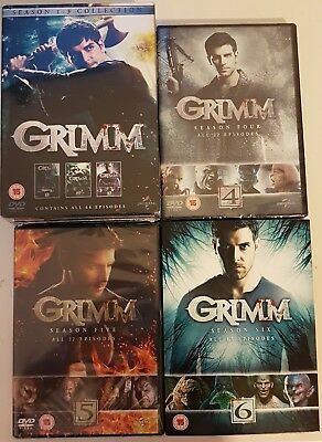 """Grimm The Complete Series Collection 1-6 Dvd Box Set 34 Disc R4 """"new&sealed"""""""