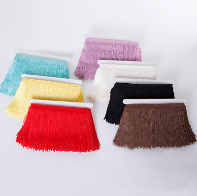 21 Colors for Choose Chainette Fringe Latin Dance Costume Trim 10 Yards 15cm