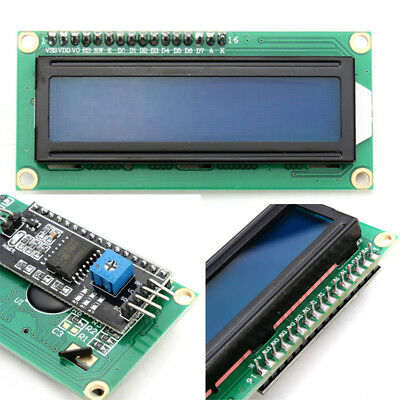 New Blue Compatible IIC I2C TWI 1602 LCD Module Display 16x2 Serial for Arduino